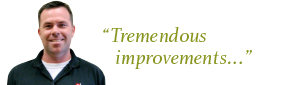 """Tremendous improvements..."""